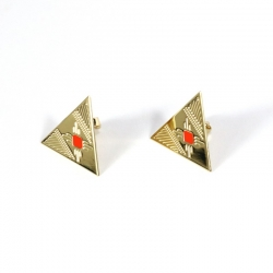 BOUCLES D'OREILLES MADEMOISELLE AIME NUBIA EMAIL ROUGE