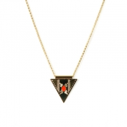 COLLIER MADEMOISELLE AIME NUBIA EMAIL ROUGE