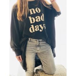 SWEAT NO BAD DAYS BLACK