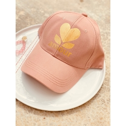 CASQUETTE V&M AMOUR PINK GOLD