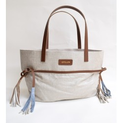 SAC ESTELLON MINI HAWAI ARGENT