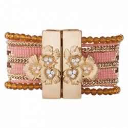 BRACELET HIPANEMA ETERNITY PINK