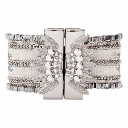 BRACELET HIPANEMA ETERNITY SILVER