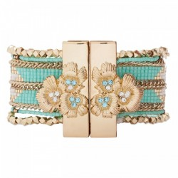 BRACELET HIPANEMA ETERNITY TURQUOISE