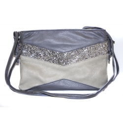 ESTELLON POCHETTE LIKE LOVE GREY