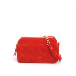 SAC MARTINA K SUEDE ROUGE
