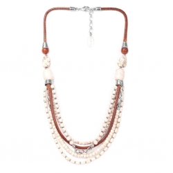 COLLIER NATURE CASABLANCA 5 RANGS