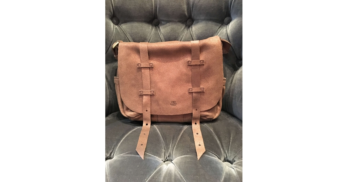 SAC MILA LOUISE BESS GLITTER CANELLE