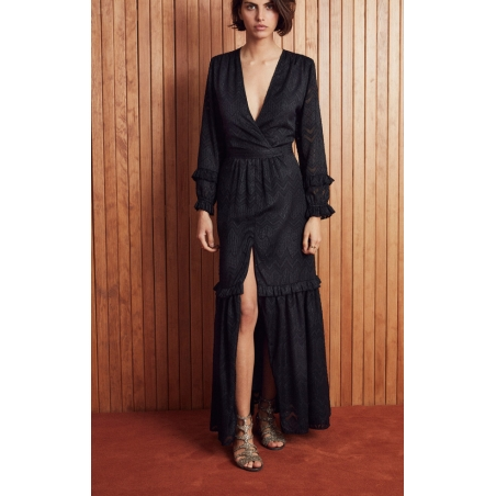 ROBE AMENAPIH SOLISTE BLACK