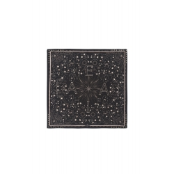 FOULARD AMENAPIH MINI CONSTELLATION BLACK