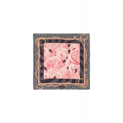FOULARD AMENAPIH MINI PINK FLAMINGO