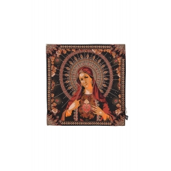 FOULARD AMENAPIH MINI AVE MARIA chili