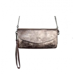 STREET LEVEL SAC POCHETTE METALLIC CLUCTH ROSE GOLD