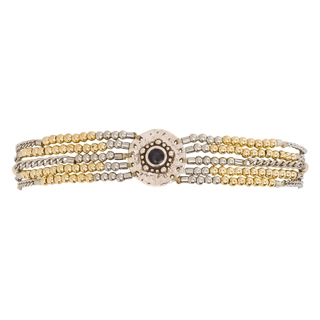BRACELET HIPANEMA SHOGUN SILVER GOLD