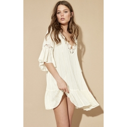 ROBE AMENAPIH KALLI WHITE