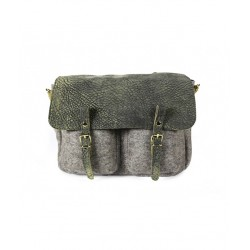 SAC CRAIE MAXI MATHS ELEPHANT GRIS