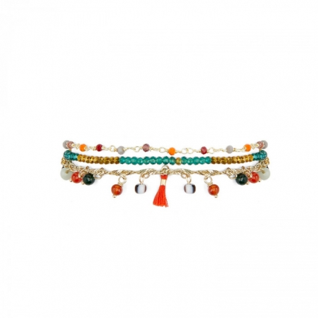 BRACELET HIPANEMA HAREM RED