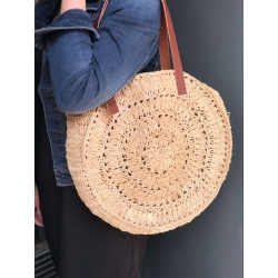 SAC ESTELLON BLOND RAPHIA