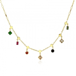 COLLIER ANARTXY CHARMS...